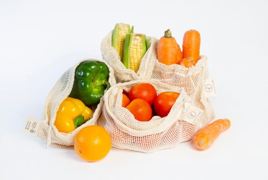 Organic Cotton Mesh Produce Bags