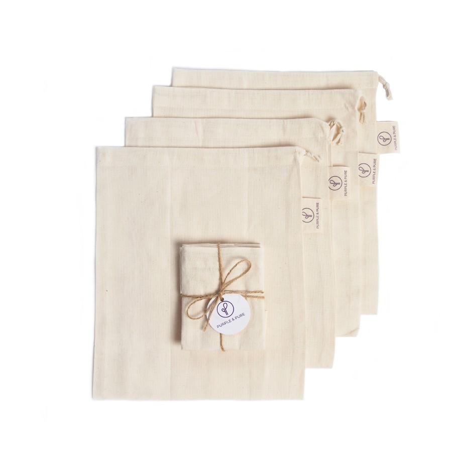 Organic Muslin Cotton Produce Bag