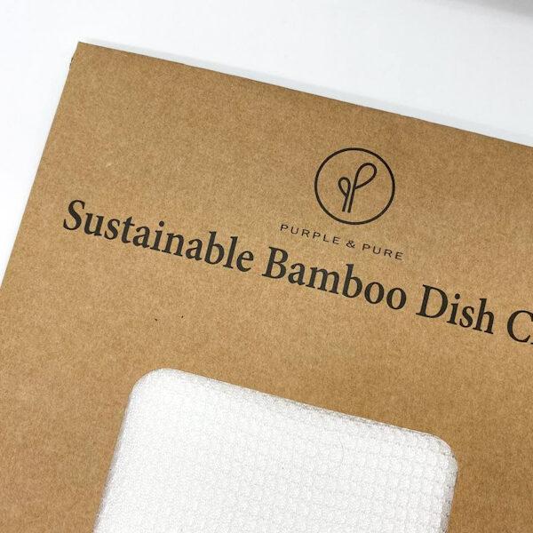 Bamboo dish cloth front